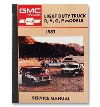 (1987)  Shop Manual