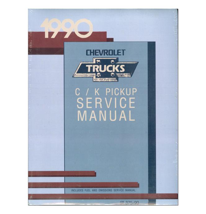 (1990)  Service Manual C/K Series