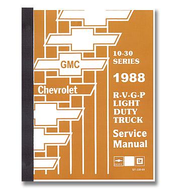 (1988)  Service Manual R/V Series