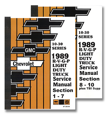 (1989)  Service Manual R/V Series
