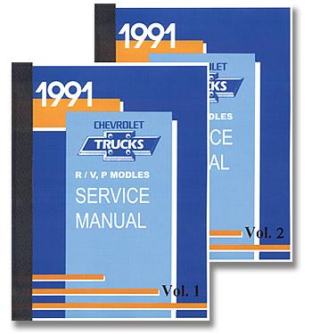 (1991)  Service Manual R/V Series
