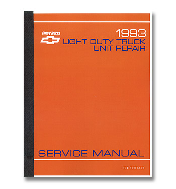 (1993)   Service Manual -Body/Chassis
