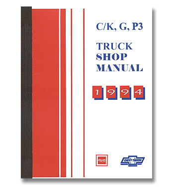 (1994) Shop Manual - Body / Chassis - C/K