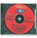 (1993)  Service & Overhaul Manual C/K Series CD