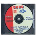 (1994)  Service & Overhaul Manual C/K Series CD