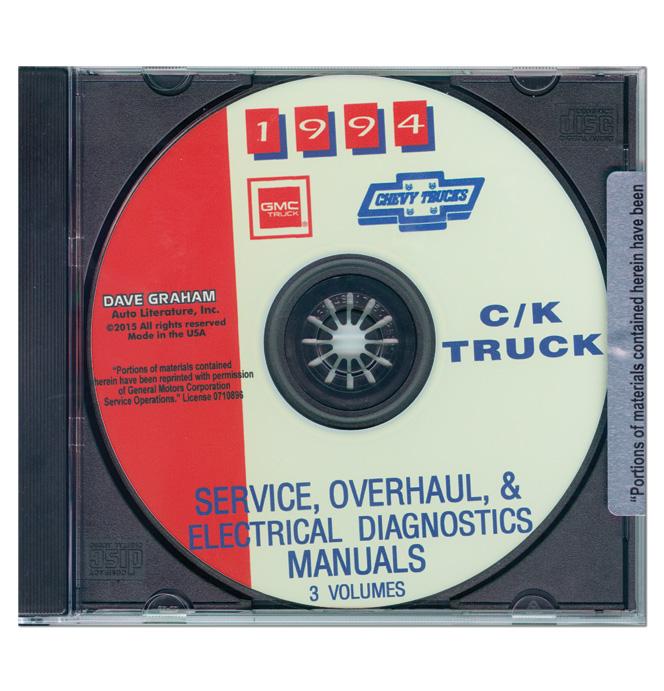 Service  U0026 Overhaul Manual C  K Series Cd