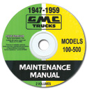 (1947-59)  Shop Manual - GMC CD