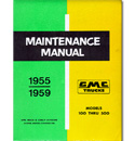 (1955-59)  Shop Manual - GMC