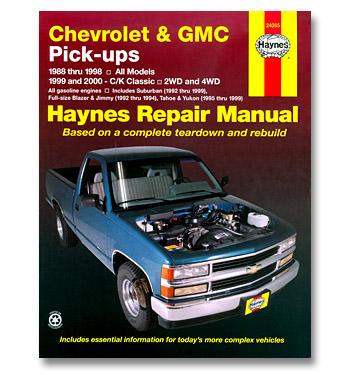 (1988-98)  Haynes Repair Manual