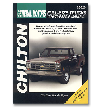 (1970-79)  Chiltons Repair Manual - Pickup
