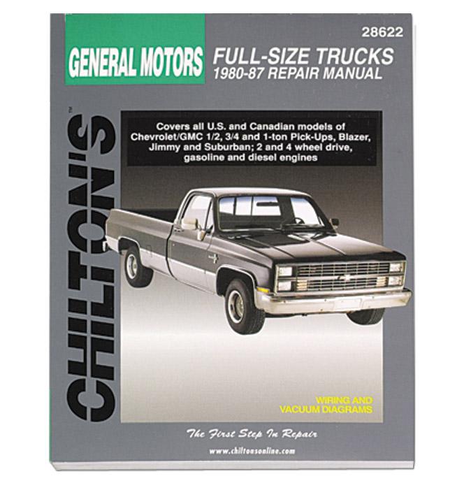 (1980-87)  Chiltons Repair Manual - Pickup
