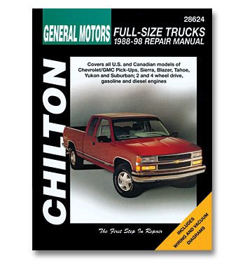 chilton repair manual pickup classic chevy truck parts rh classicparts com 92 GMC Repair Manuals GMC GMC Auto Repair Manual