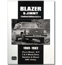 (1969-82)  Blazer Jimmy Limited Edition Extra