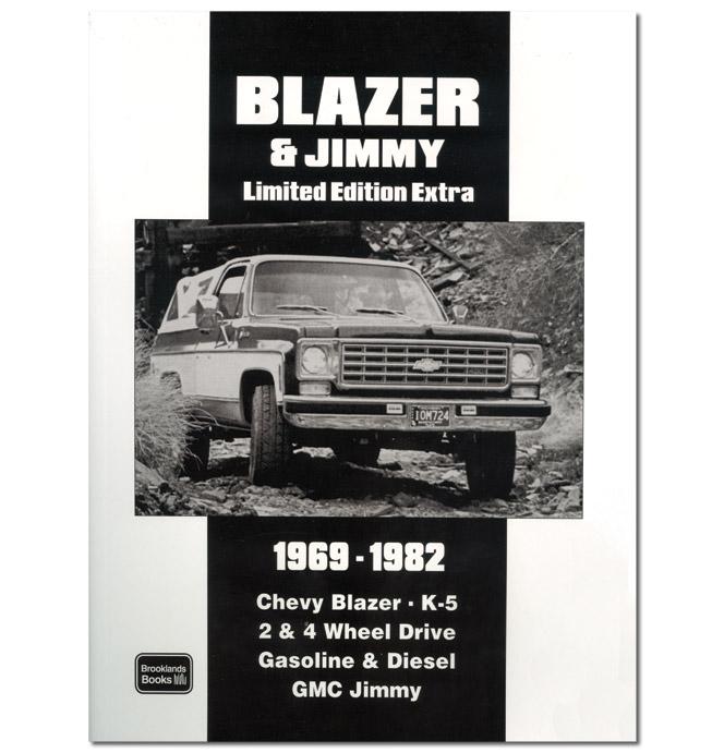 (1969-82)  Blazer Jimmy Limited Edition Extra