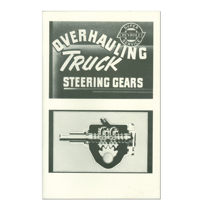 (1955-59) Steering Box Overhaul Manual