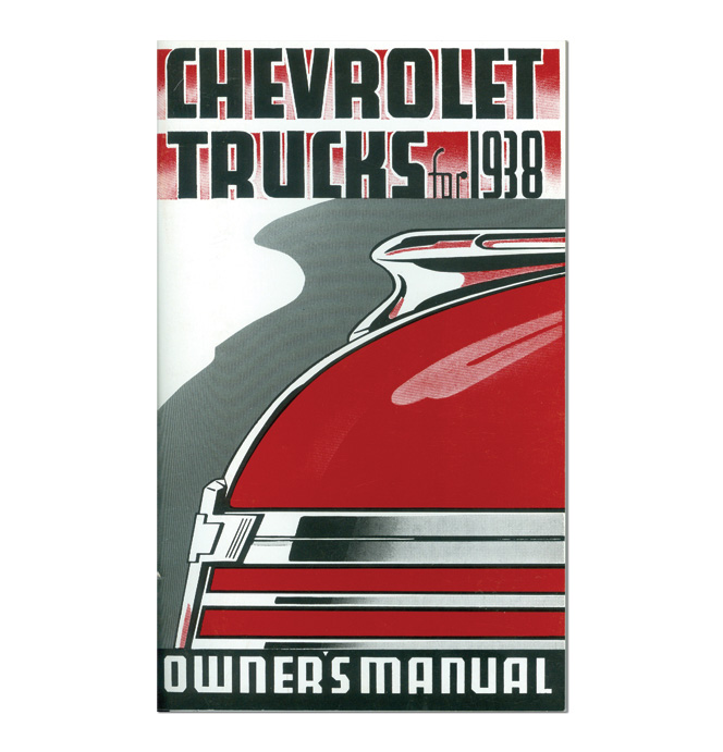 (1938)  Owners Manual - Chevrolet