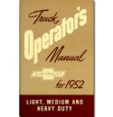 (1952)  Owners Manual - Chevrolet