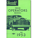 (1953)  Owners Manual - Chevrolet