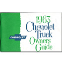 (1963)  Owners Manual