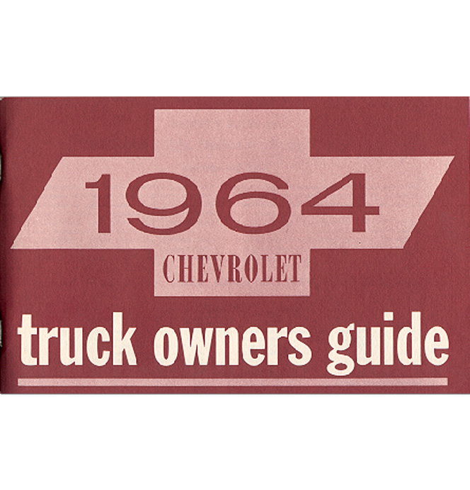(1964)  Owners Manual