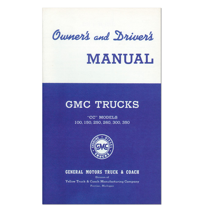 (1941)  Owners Manual - GMC