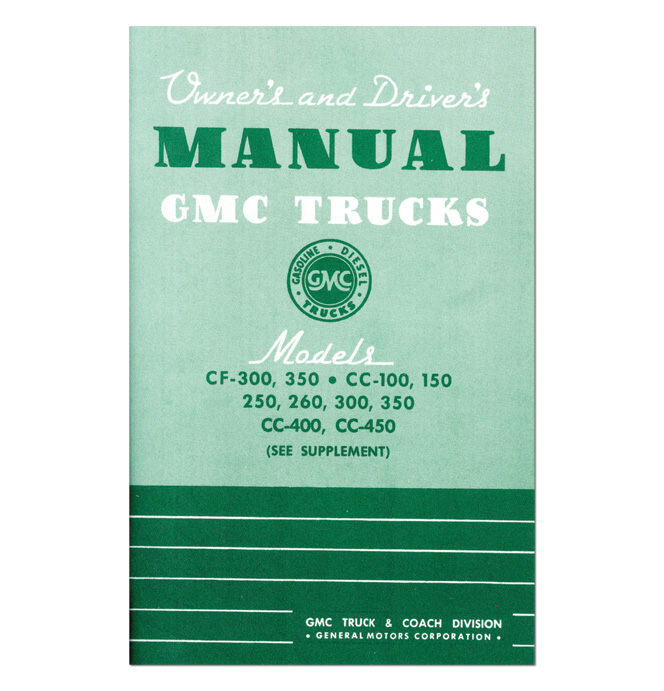 (1944-46)  Owners Manual - GMC
