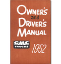(1952)  Owners Manual - GMC