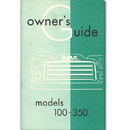 (1955 1st Series)  Owners Manual - GMC