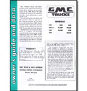 (1955 2nd Series-56)  Owners Manual - GMC