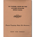 (1961)  Accessory Installation Manual