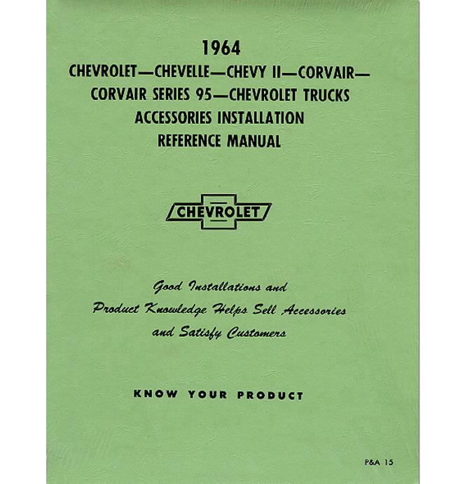 (1964)  Accessory Installation Manual