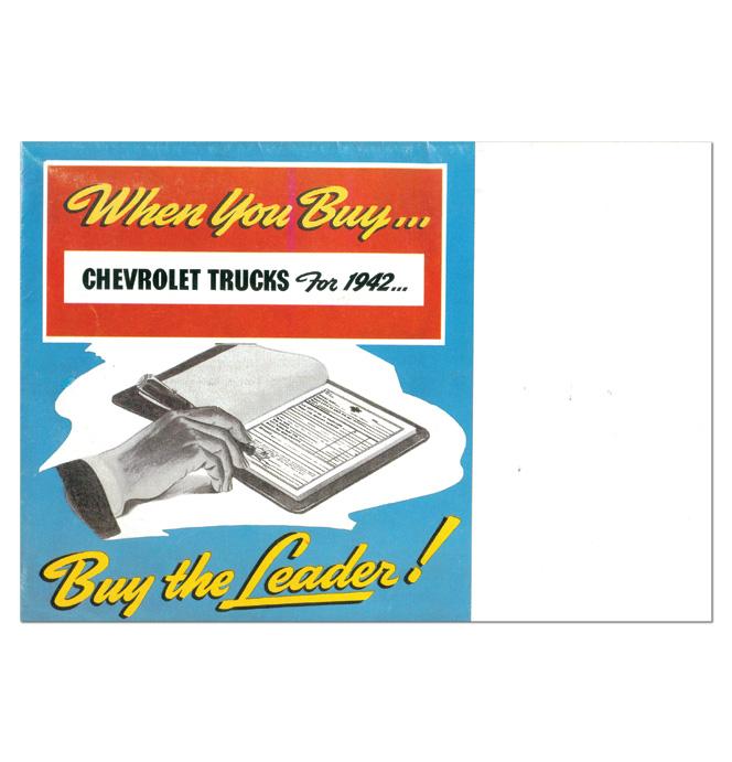 (1942)  Sales Brochure