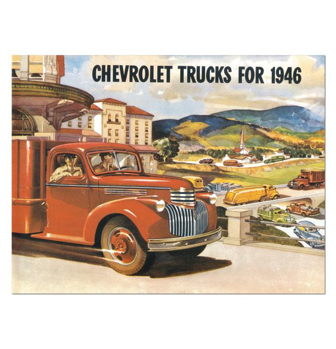 (1946)  Sales Brochure
