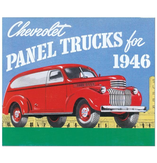 (1946)  Sales Brochure Panel