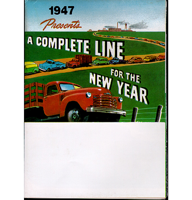(1947)  Sales Brochure