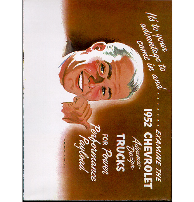 (1952)  Sales Brochure