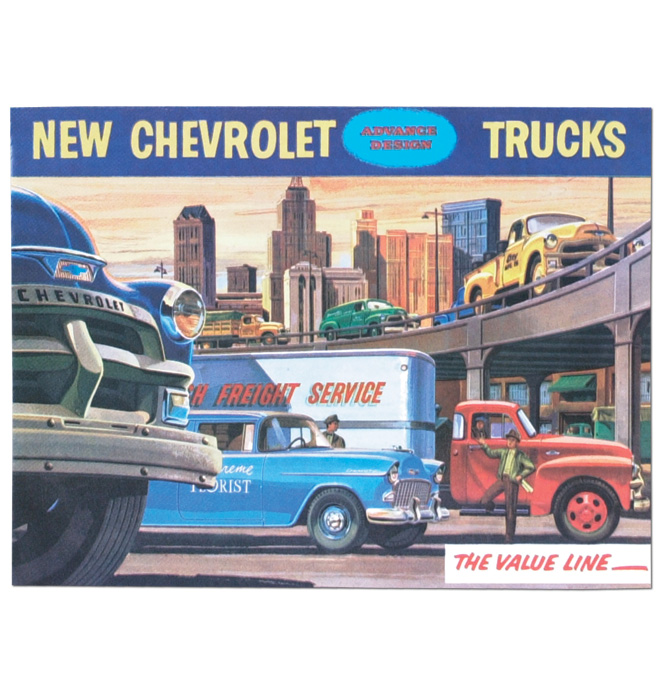 (1955 1st Series)  Sales Brochure