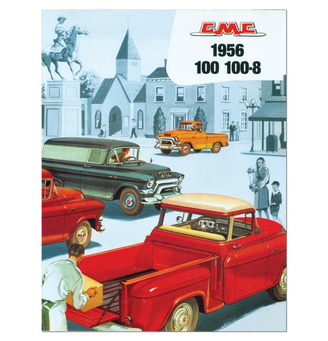 (1956)  Sales Brochure GMC