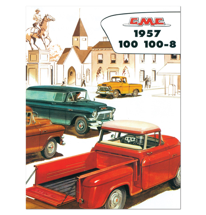 (1957)  Sales Brochure GMC