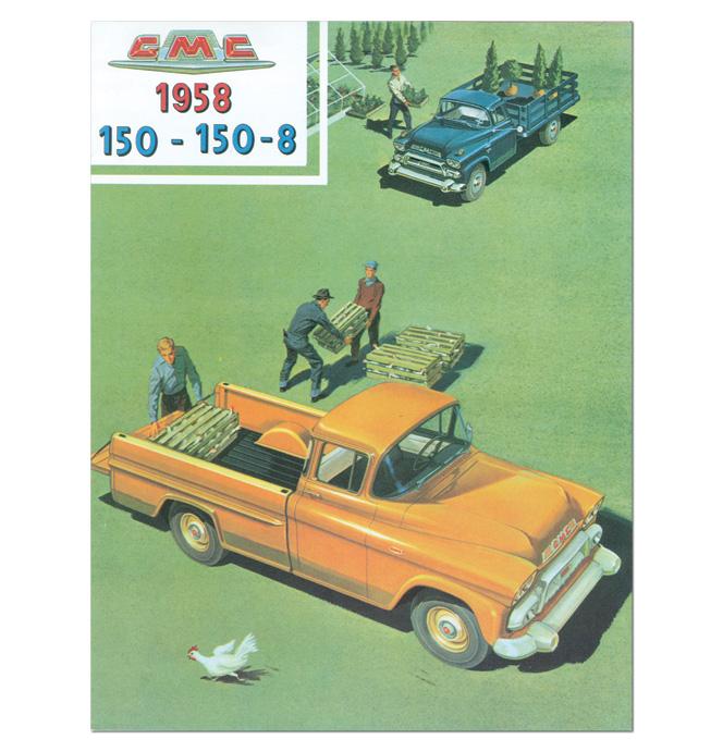 (1958)  Sales Brochure GMC