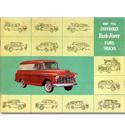 (1956)  Sales Brochure - Panel Truck