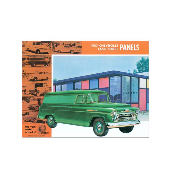 (1957)  Sales Brochure - Panel Truck