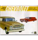 (1959)  Sales Brochure - Panel Truck