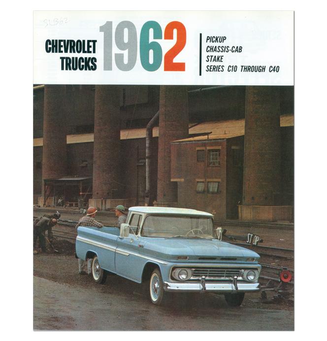 (1962)  Sales Brochure C10-C40
