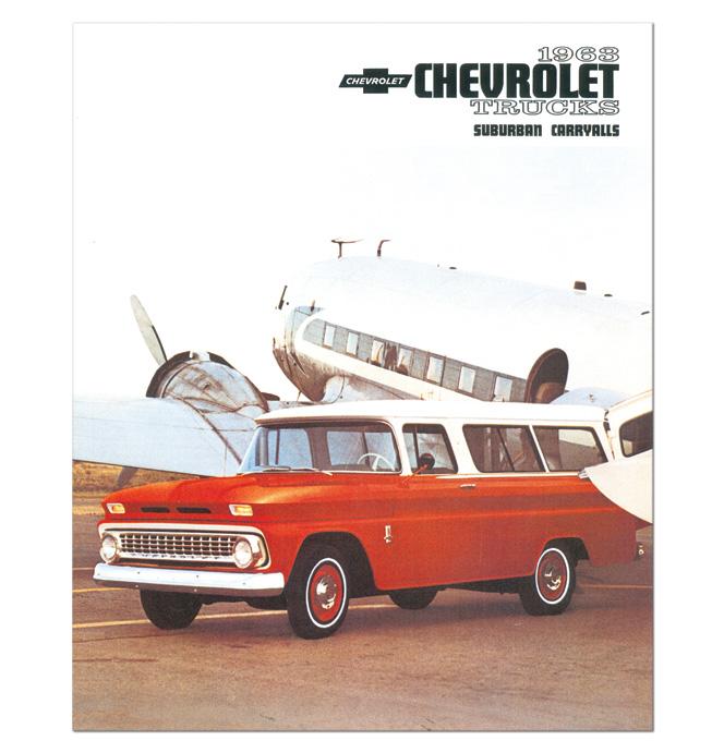 (1963)  Sales Brochure Suburban