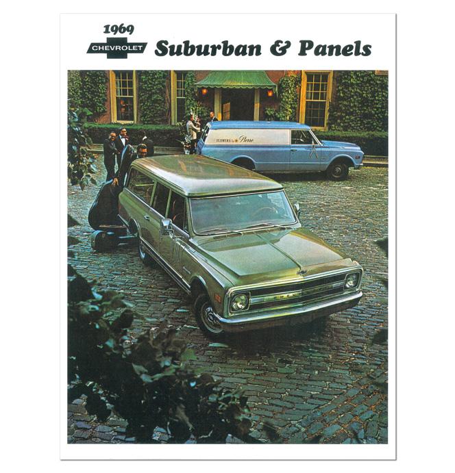 (1969)  Sales Brochure Panel Suburban