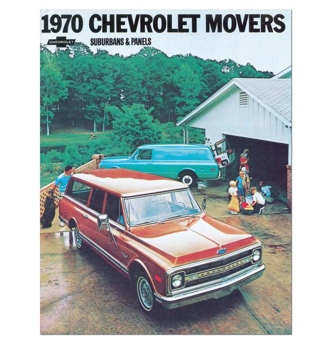 (1970)  Sales Brochure Panel Suburban