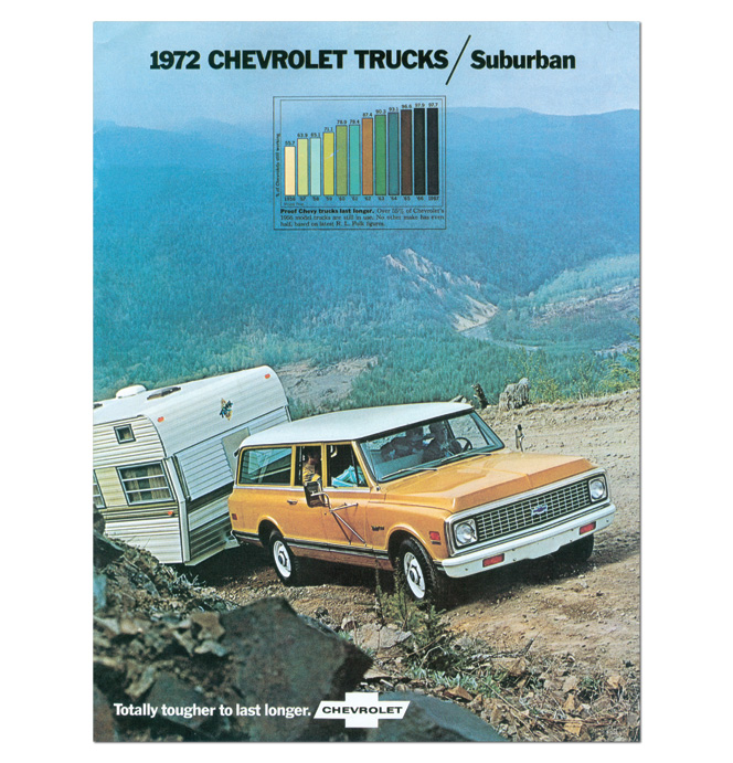 (1972)  Sales Brochure Suburban