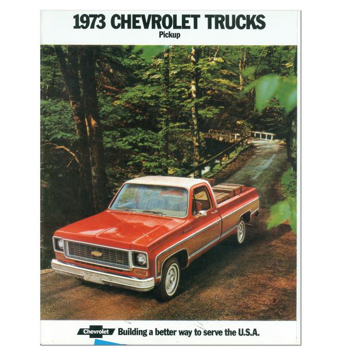 (1973)  Sales Brochure