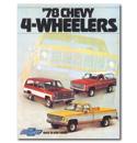 (1978)  Sales Brochure K Series 4WD